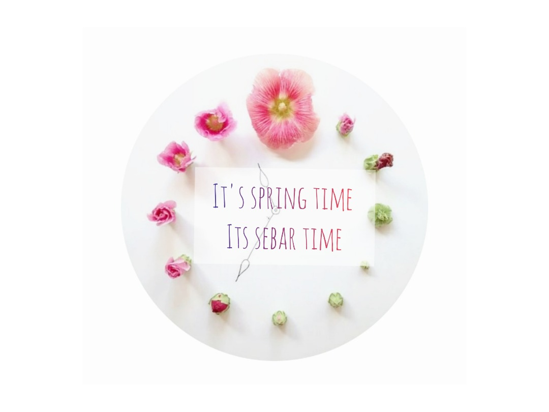 It's Spring time..It's SeBar time..