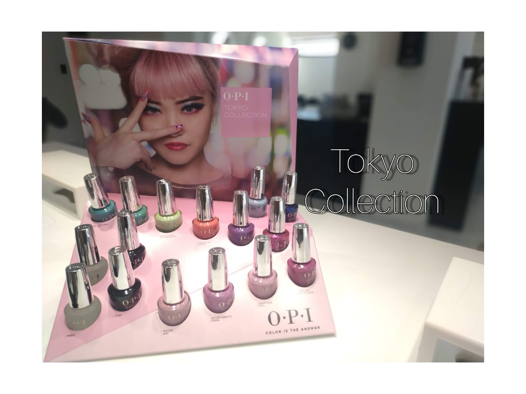 New OPI Tokyo Collection