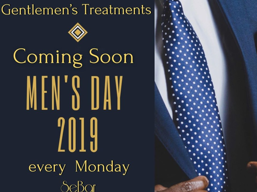 Men's day-Every Monday